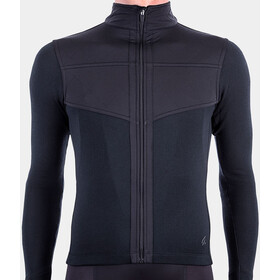 Isadore Long Sleeve Shield Jersey Men, black
